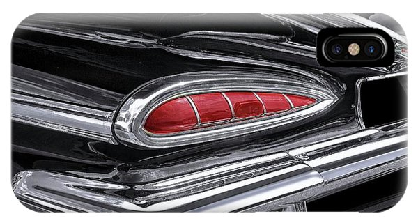 59 Chevy Tail Light Detail IPhone Case