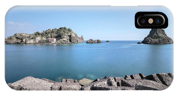 Cyclops iPhone Case - Aci Trezza - Sicily by Joana Kruse
