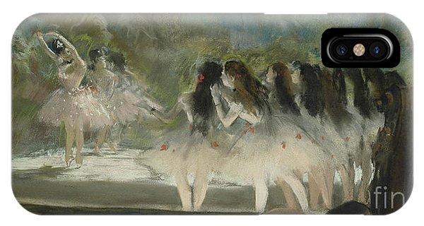 1877 iPhone Case - Ballet At The Paris Opera by Edgar Degas