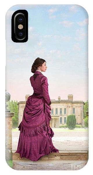 Beautiful Victorian Woman IPhone Case