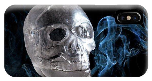 Ice Skullpture IPhone Case