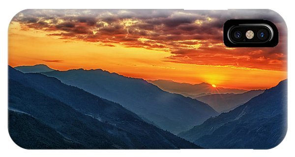 Kalinchok Kathmandu Valley Nepal IPhone Case