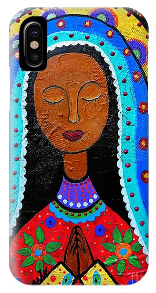 Our Lady Of Guadalupe IPhone Case