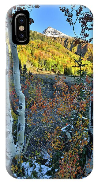 Red Mountain Pass IPhone Case