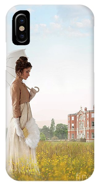 Regency Woman IPhone Case