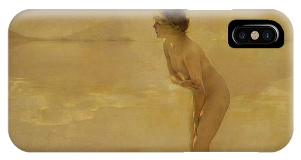 French Painter iPhone Case - September Morn by Paul Chabas