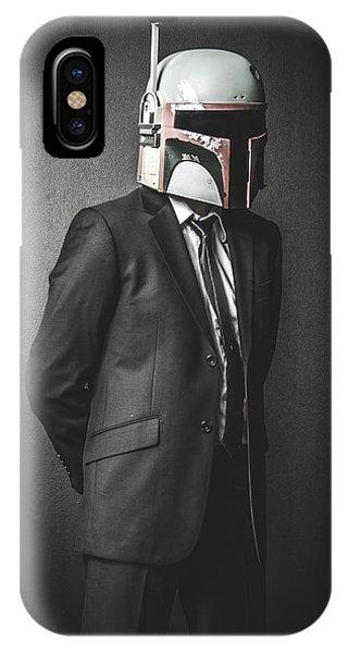 Geometric iPhone X Case - Star Wars Dressman by Marino Flovent