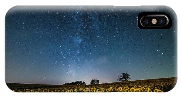Sunflower Galaxy IPhone Case