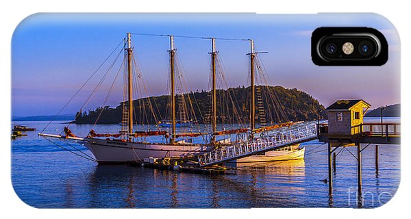 The Schooner Margaret Todd IPhone Case