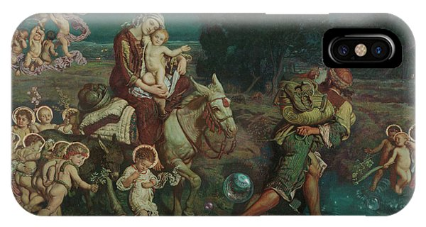 Airy iPhone Case - The Triumph Of The Innocents by William Holman Hunt