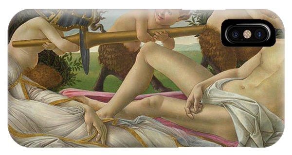 Botticelli iPhone Case - Venus And Mars by Sandro Botticelli