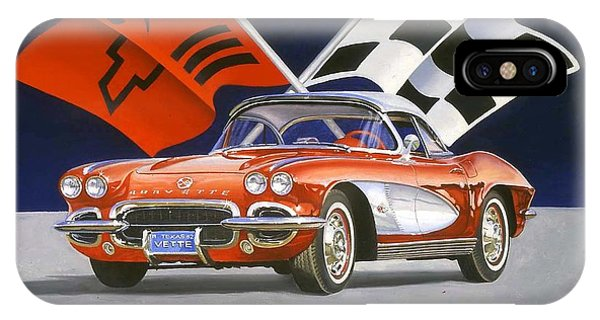 62 Vette IPhone Case