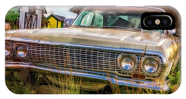 IPhone Case featuring the photograph 63 Impala by Bitter Buffalo Photography