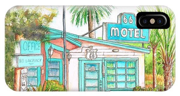 66 Motel In Needles, California IPhone Case