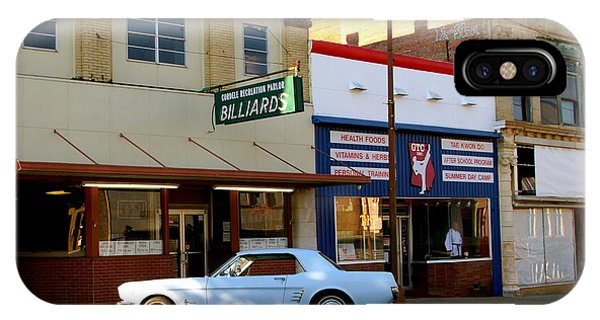 66 Mustang Down Town Phone Case by Danny Jones