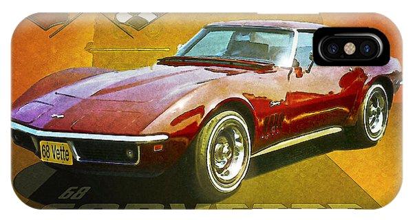 68 Corvette IPhone Case