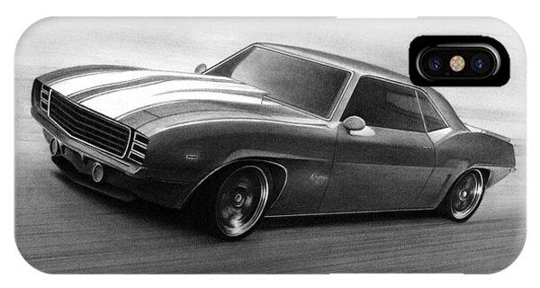 '69 Camaro IPhone Case