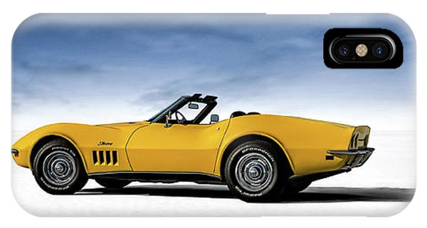 Chevrolet iPhone Case - '69 Corvette Sting Ray by Douglas Pittman