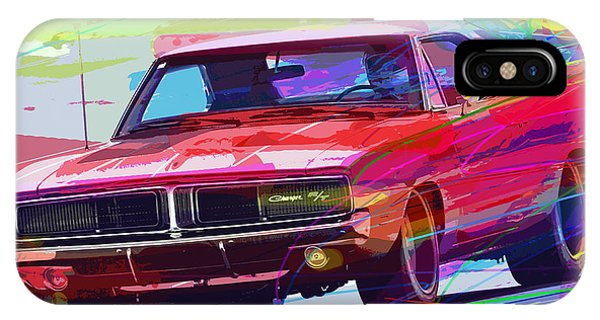 69 Dodge Charger  IPhone Case