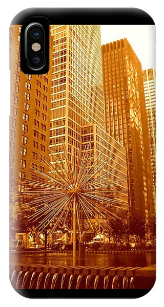 6th Avenue In Mahattan IPhone Case