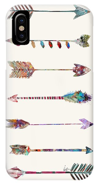 Native iPhone Case - 7 Arrows by Bri Buckley