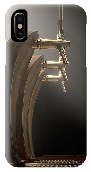 Brewery iPhone Case - Beer Tap Row by Allan Swart
