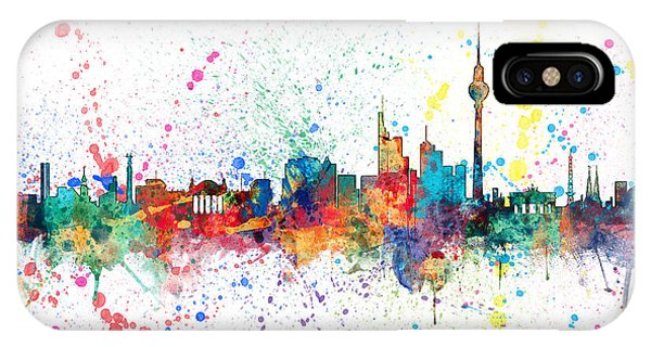 Berlin Germany Skyline IPhone Case