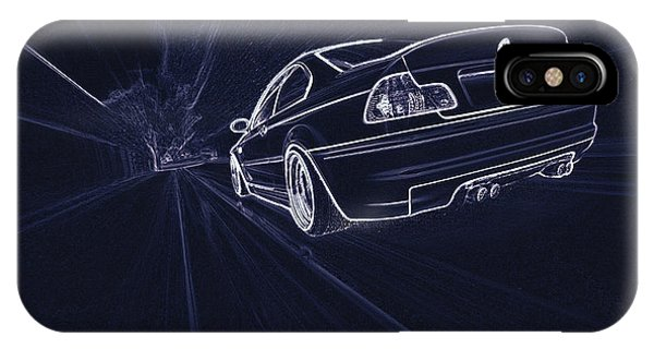 Bmw M3 E46  IPhone Case