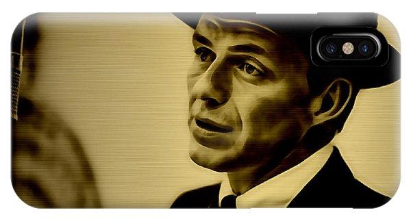 Frank Sinatra Art IPhone Case
