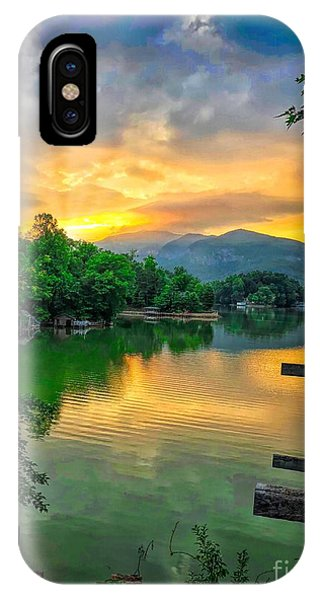 Lake Lure IPhone Case