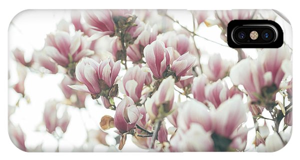 Blossoms iPhone Case - Magnolia by Jelena Jovanovic