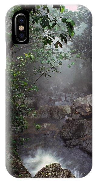 Misty Rainforest El Yunque IPhone Case