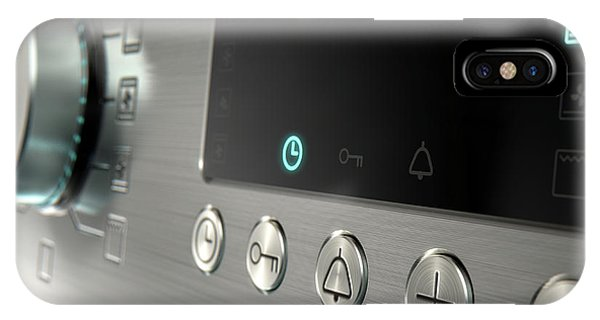 Stainless Steel iPhone Case - Modern Oven Closeups by Allan Swart