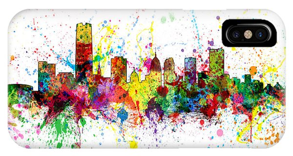Oklahoma City Skyline IPhone Case