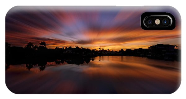 Sunrise At Naples, Florida IPhone Case