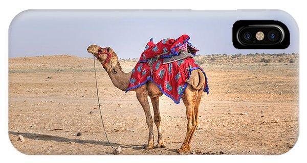 Desert iPhone Case - Thar Desert - India by Joana Kruse