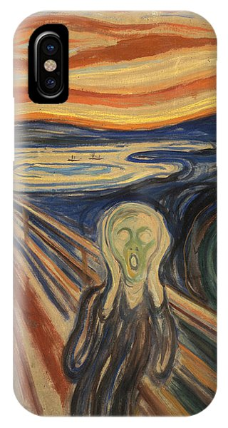 20th Century Man iPhone Case - The Scream by Edvard Munch