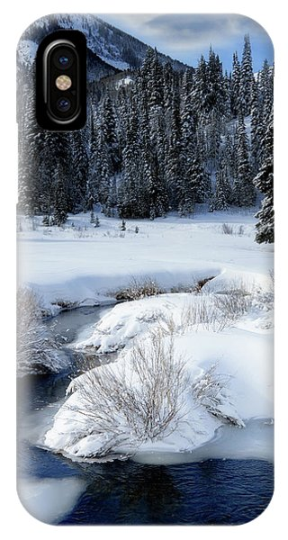 Wasatch Mountains In Winter IPhone Case