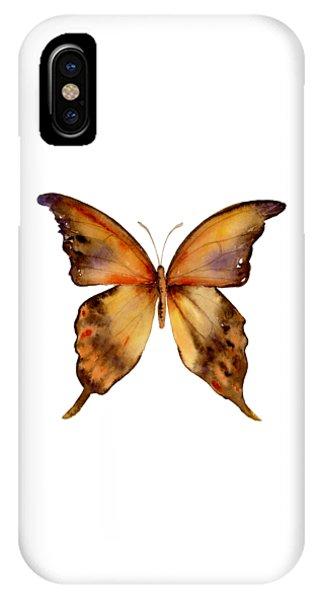 Gorgon iPhone Case - 7 Yellow Gorgon Butterfly by Amy Kirkpatrick