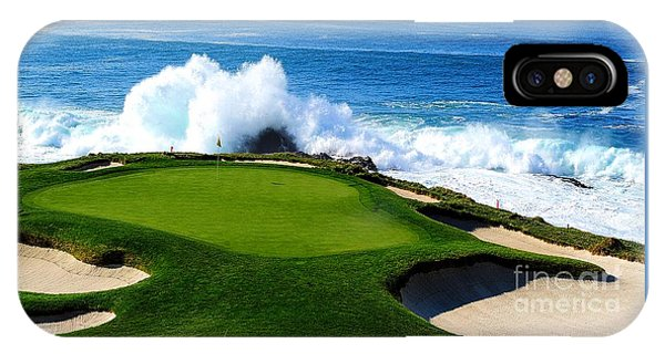 7th Hole - Pebble Beach  IPhone Case