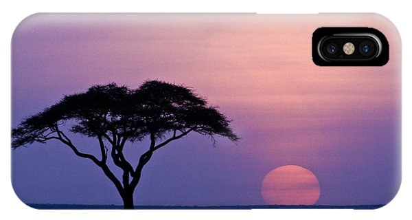 African Sunrise IPhone Case