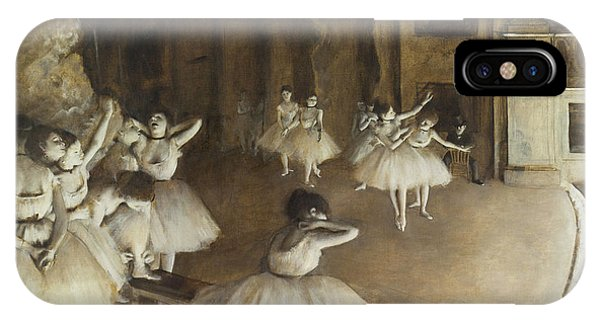 Ballet Rehearsal On Stage IPhone Case