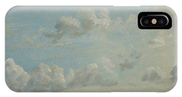 Cloud iPhone Case - British Title Cloud Study by John Constable