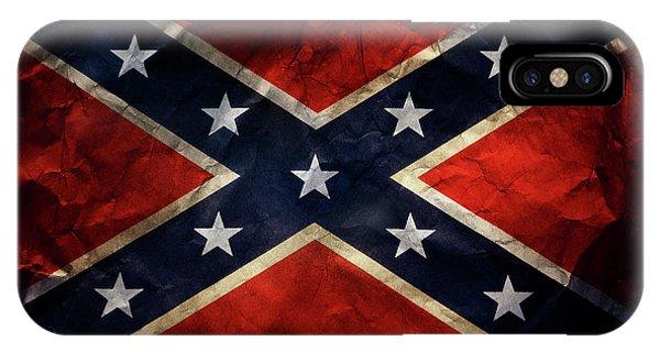 Confederate Flag 9 IPhone Case