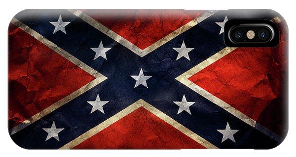 Confederate Flag IPhone Case