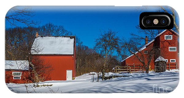 Weir Farm National Historic Site. IPhone Case