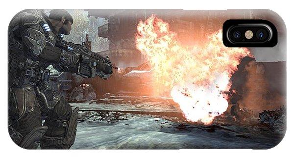 Gears Of War 2 IPhone Case