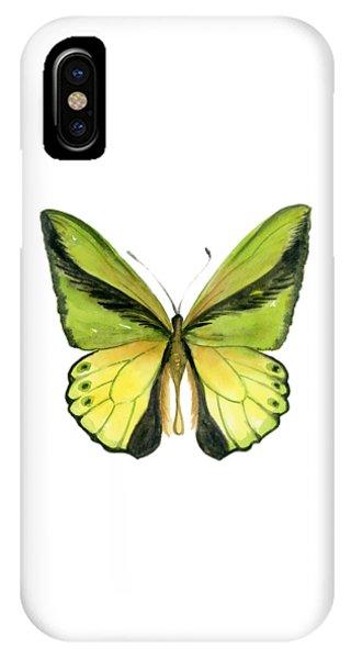 8 Goliath Birdwing Butterfly IPhone Case