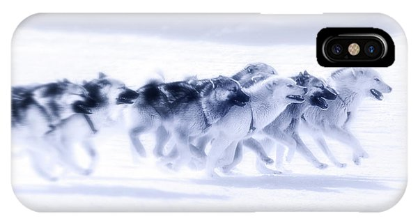 Huskies In Ilulissat, Greenland IPhone Case