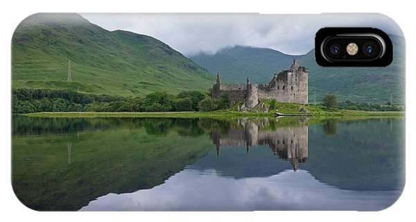 Kilchurn Castle IPhone Case